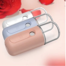Load image into Gallery viewer, Beauty Portable Mini USB Rechargeable Face Mist Moisture Nano Spray
