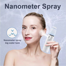 Load image into Gallery viewer, Hot Sale cool facial steamer Handheld Facial Nano mist spray