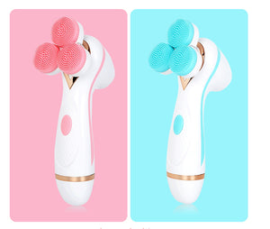 Portable Sonic Electric Device Deep Facial Cleansing Brush