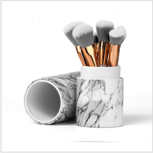Marble Makeup Brush,High Quality Fashionable Cosmetic Makeup Brush Set