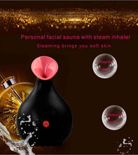 Load image into Gallery viewer, Nano Ionic Face Steamer for Home Facial, Warm Mist Humidifier Atomizer