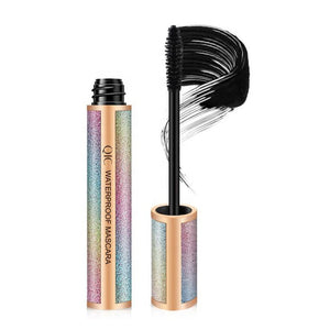 Silicone Eyelash Eyeliner and 4D Silk Fiber Lash Mascara Value Set