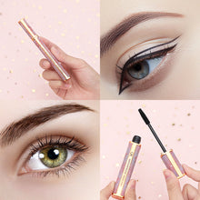 Load image into Gallery viewer, Eyeliner & Mascara Set - 4D Silk Fiber Lash Mascara, Liquid Eyeliner Black/Waterproof Eyeliner Pencil and Mascara