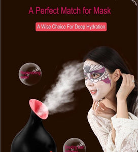 Nano Ionic Face Steamer for Home Facial, Warm Mist Humidifier Atomizer