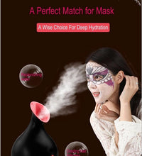 Load image into Gallery viewer, Upgraded Face Steamer Warm Mist Steamer for Face Deep Cleaning Moisturizing Home Sauna