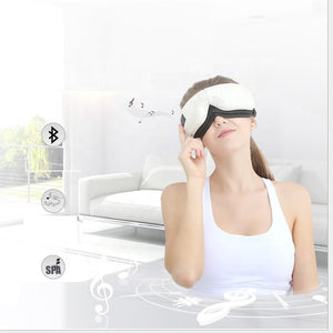 Electric Temple Eye Massager with Heating Air Pressure Music Vibration