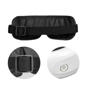 Compression Bluetooth Music Rechargeable Eye Therapy Massager for Relieve Eye Strain Dark Circles Eye Bags