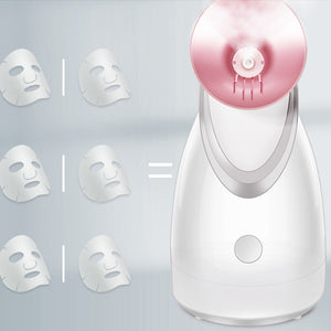 Facial Steamer Nano Ionic Face Steamer For Facial Deep Cleaning Warm Mist Facial Steamer For Women