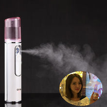 Load image into Gallery viewer, Portable Facial Moisturizing Spray Nano Face Steamer USB Charging Nano Mist Sprayer