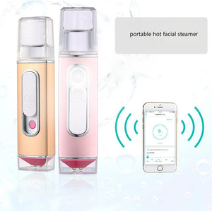 Big water tank portable facial nano mist spray or handy facial steamer