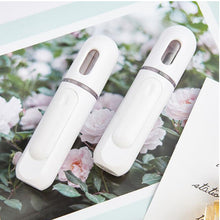 Load image into Gallery viewer, portable nano mist spray facial steamer with ozone