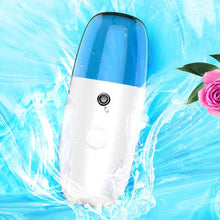 Load image into Gallery viewer, Rechargeable nano facial sprayer facial moisturizer spray for dry skin face nano handy spray mist instrument