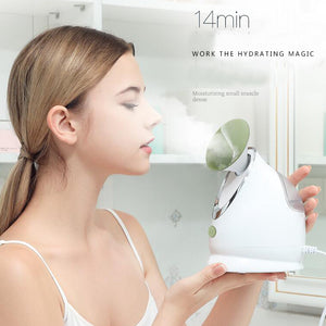 Private label Best Choice personal household portable mini facial steamer machine hot & cold ozone facial sauna