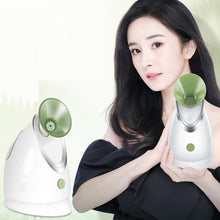 Load image into Gallery viewer, Private label Facial refreshing anti-fatigue electric mist sprayer nano mister facial steamer