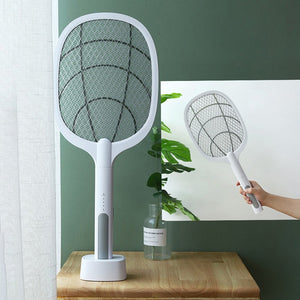 USB Charging 2 in 1 Bug Zapper And Mosquito Electric Fly Swatter - berryandberry