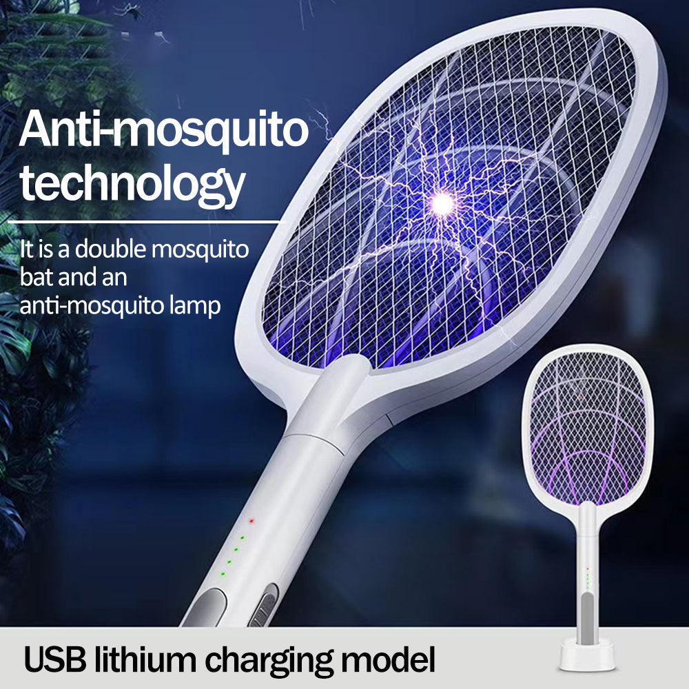 USB Charging Electric Bugs Zapper And Mosquito Electric Fly Swatter - berryandberry