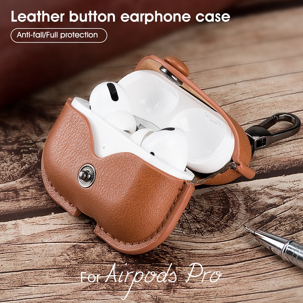 Leather AirPods Case - SpicyhotDeals