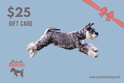 Private Barking Gift Card