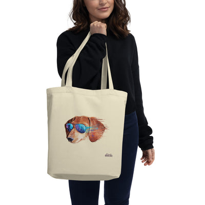 The Urbanite Dachshund Eco Tote Bag