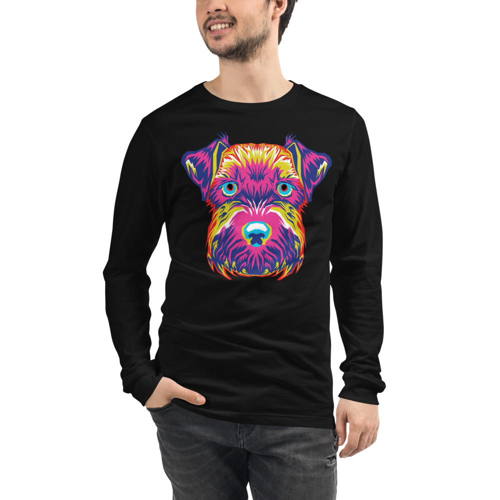 Men's Long Sleeve Mini-Schnauzer Tee