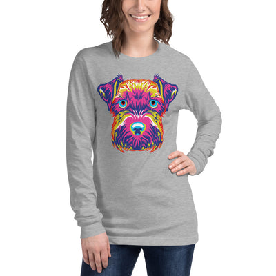 Women's Long Sleeve Mini-Schnauzer Tee