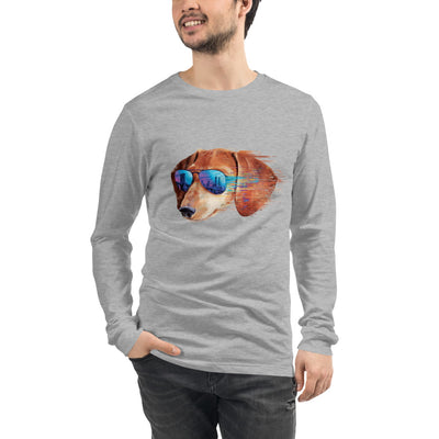 The Urbanite Dachshund Men's Long Sleeve Tee