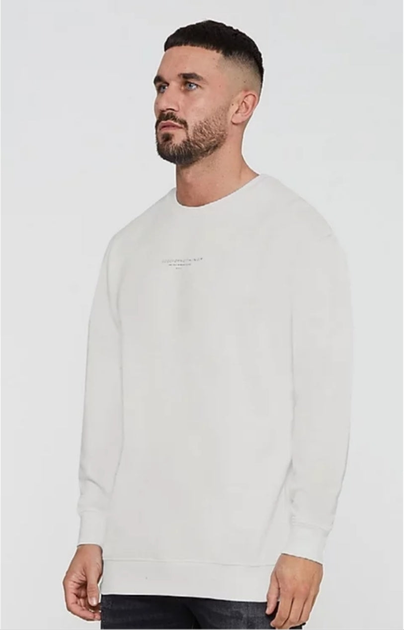 GFN Taupe Fitted Sweatshirt
