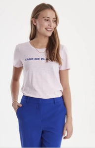 Ichi Take Me Places Slogan Tee