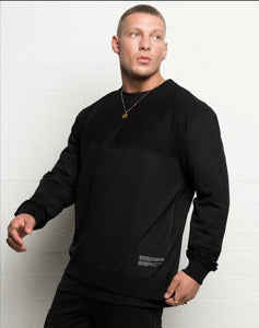 304 Mens 50/50 Sweater Black