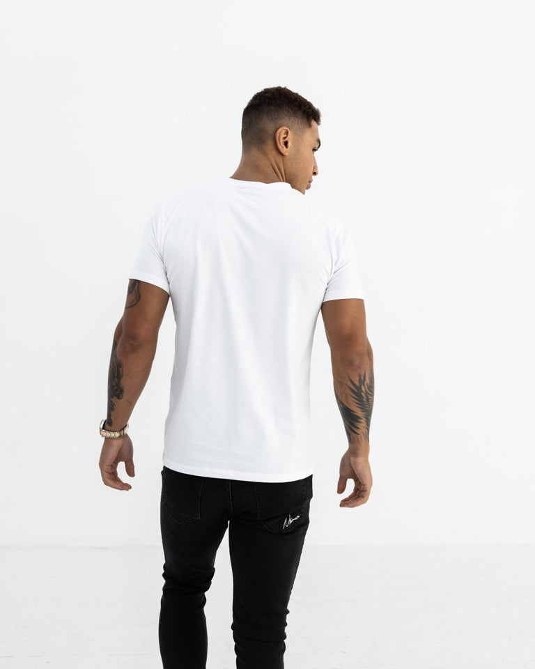 Essential Slim Fit T-Shirt – White