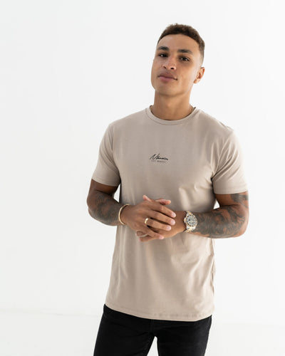 Essential Slim Fit T-Shirt – Stone