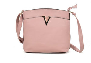 Cross Body Bag With Metal Bar Detail