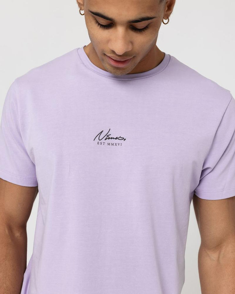 ESSENTIAL SLIM FIT T-SHIRT - LILAC