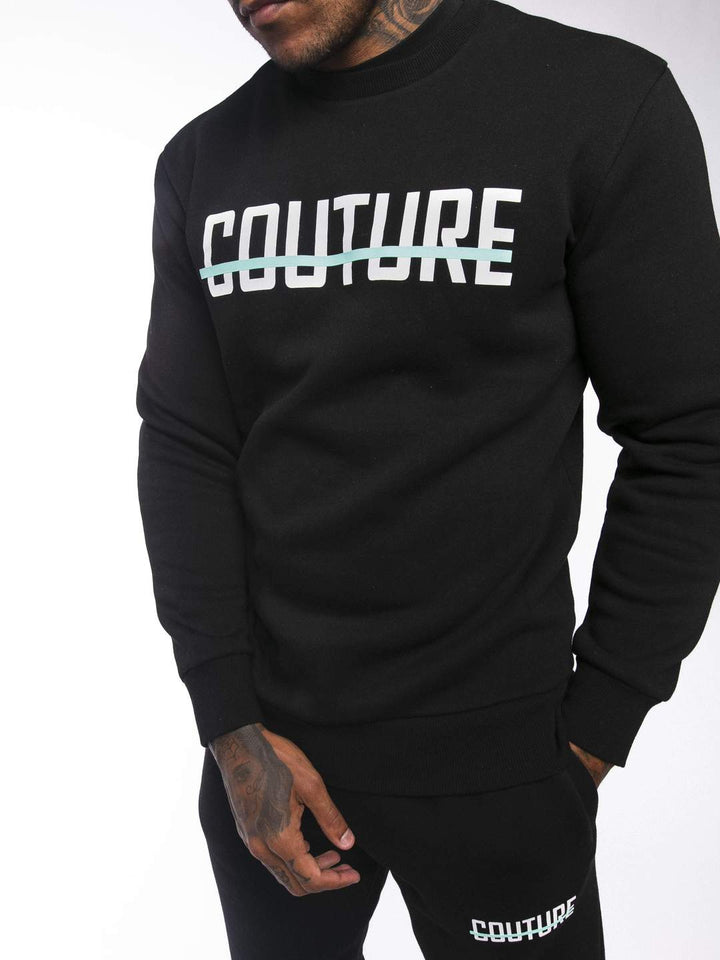 Strike OG Sweatshirt Black/Aqua