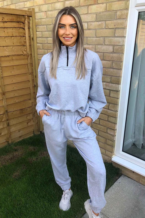 Grey Bay Cuffed Jogger