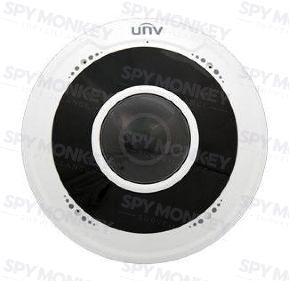 Uniview 5MP Fisheye 360 Fixed Dome Network Camera - IPC815SR-DVPF14