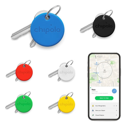 Chipolo One Keyfinder: Bluetooth, Assorted Colours