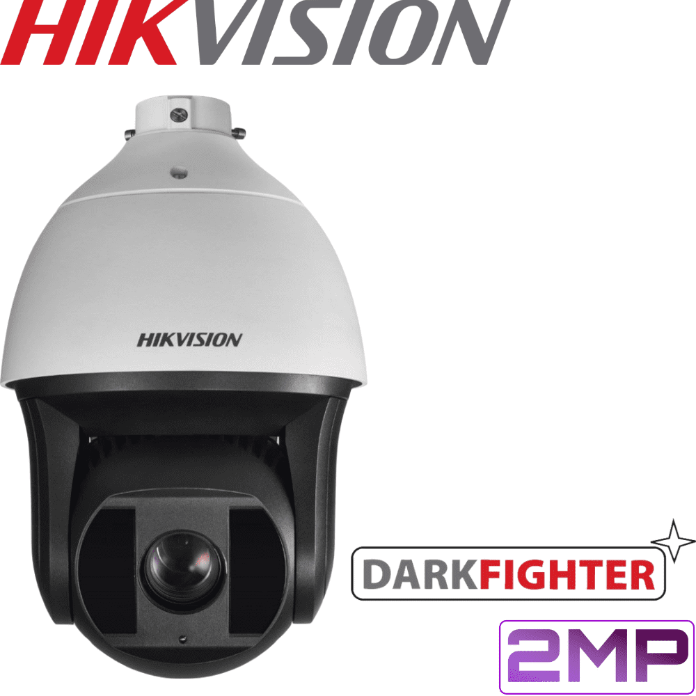 Hikvision DS-2DF8225IX-AEL Security Camera: 2MP Darkfighter PTZ, 25X Zoom, 200m IR