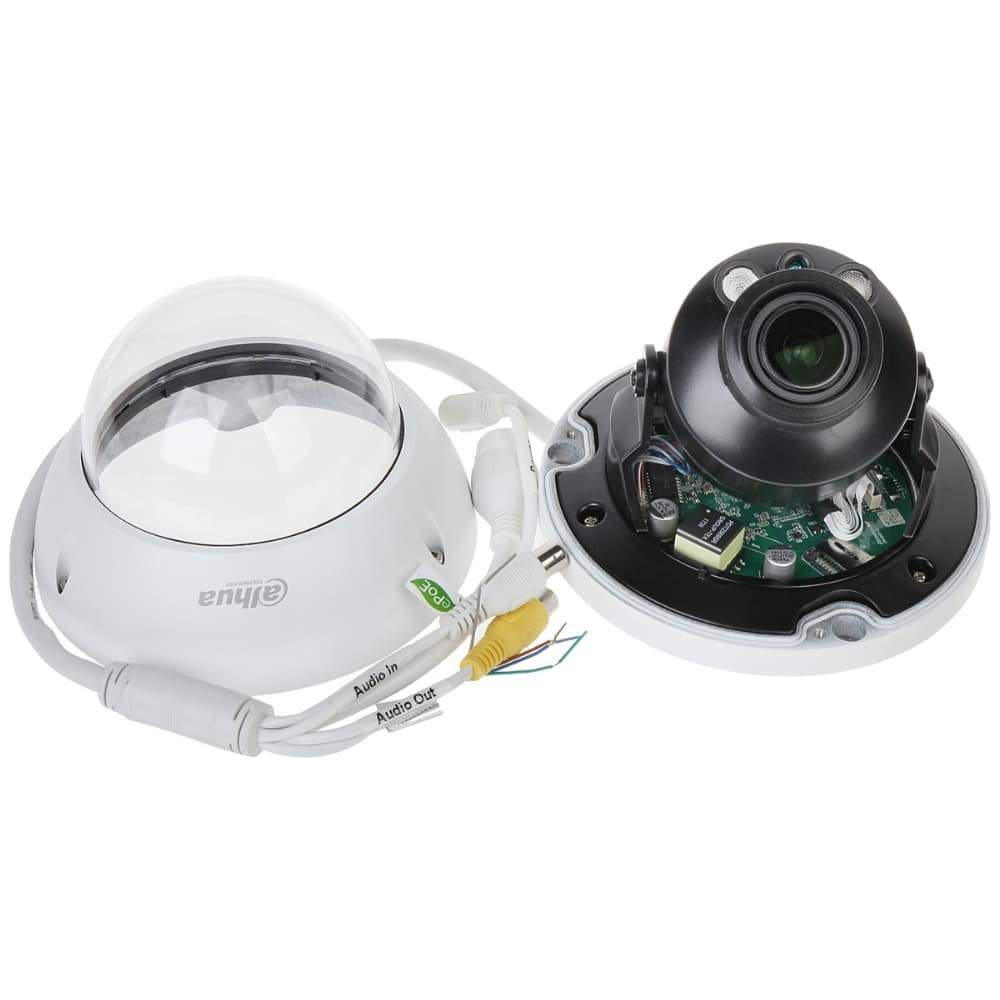 Dahua IPC-HDBW5831R-ZE Security Camera: 8MP VF Dome, 2.7-12mm