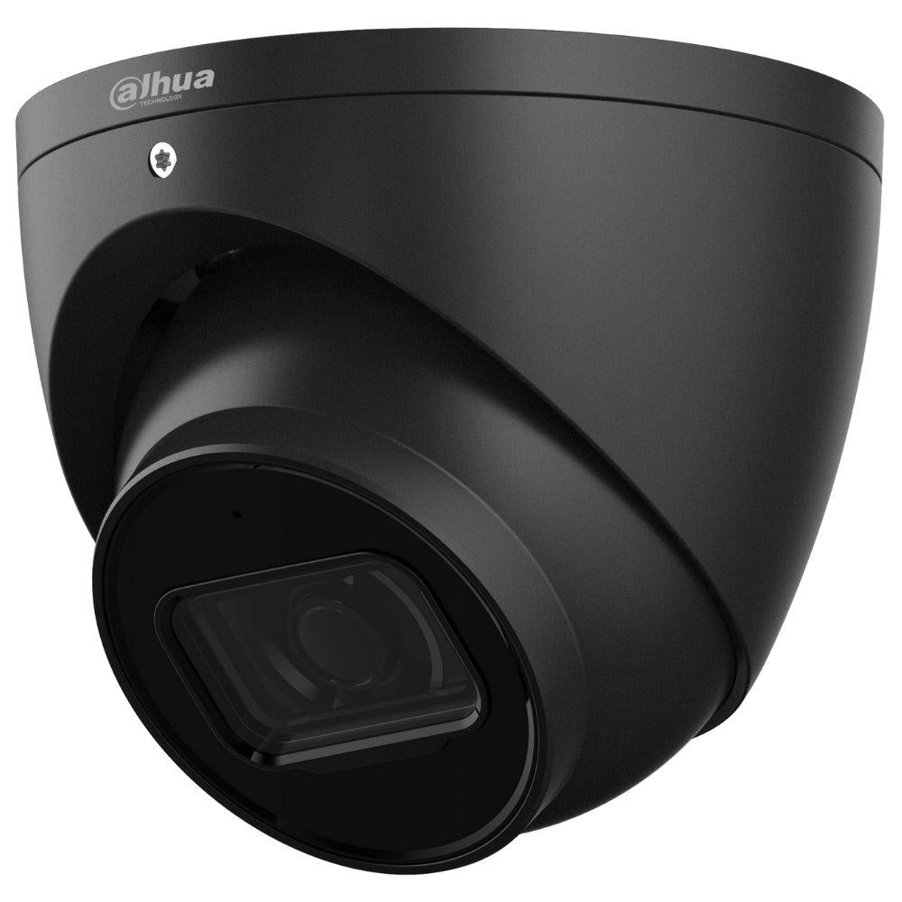 Dahua DH-IPC-HDW2431EMP-AS-0280B-S2-BLK Security Camera: 4MP Turret, Lite Series, Fixed 2.8mm