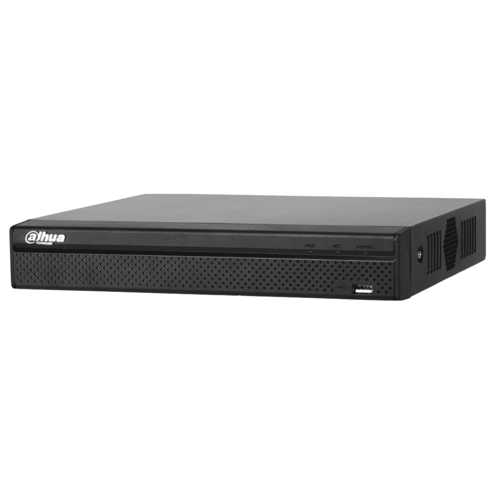 Dahua DHI-NVR4104HS-P-4KS2 4 Channel Network Video Recorder: 8MP(4K), Lite Series