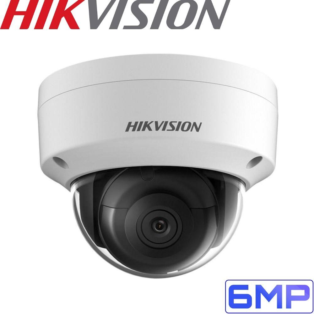 Hikvision 4 Channel Security Kit: 8MP(4K) NVR, 4 X 6MP Dome Cameras, 3TB HDD