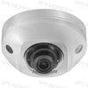 Hikvision DS-2CD2555FWD-IWS Security Camera: 6MP Mini Dome, Built-In Mic, WiFi, 2.8mm