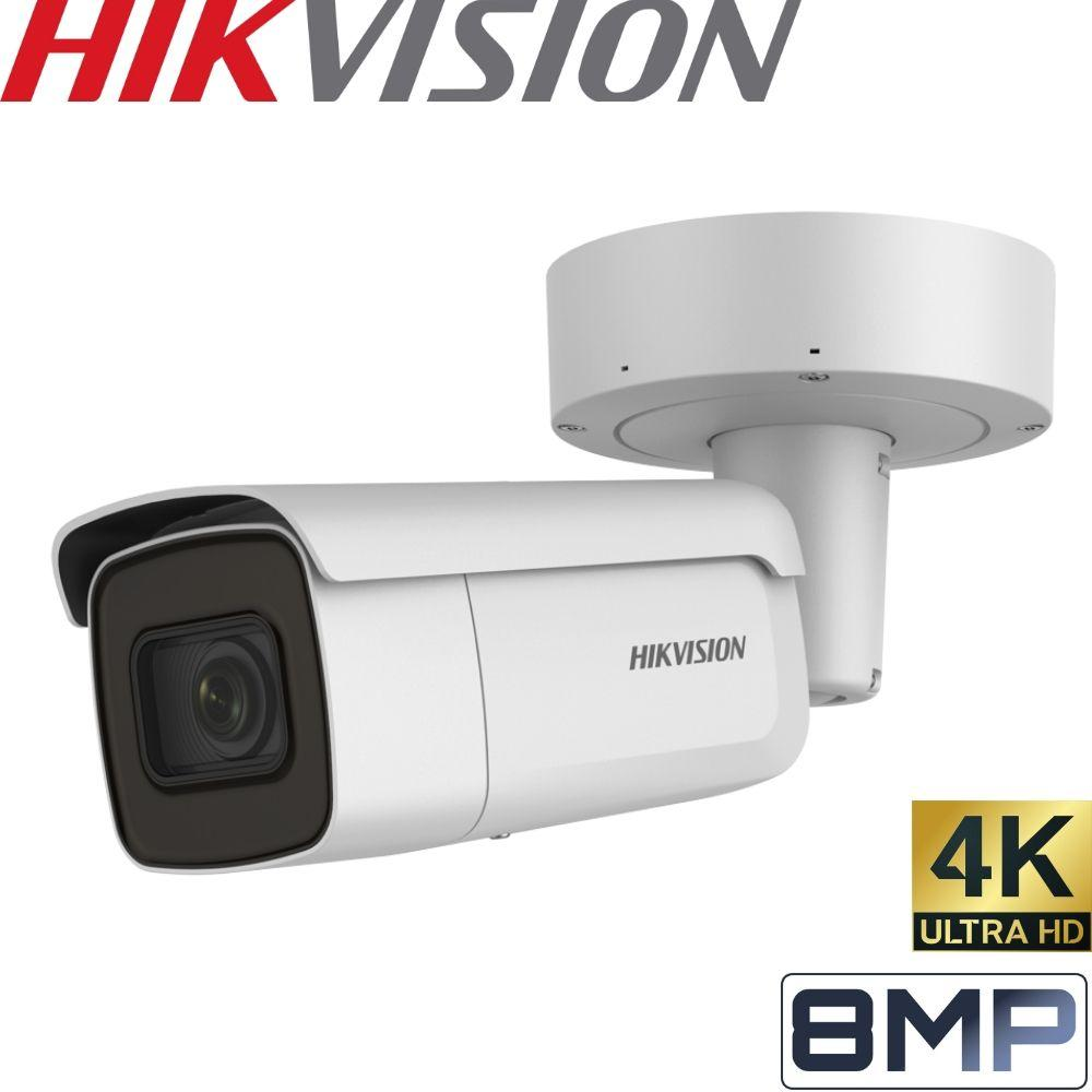 Hikvision DS-2CD2685FWD-IZS Security Camera: 8MP (4K) Motorised Varifocal Bullet 2.8-12mm