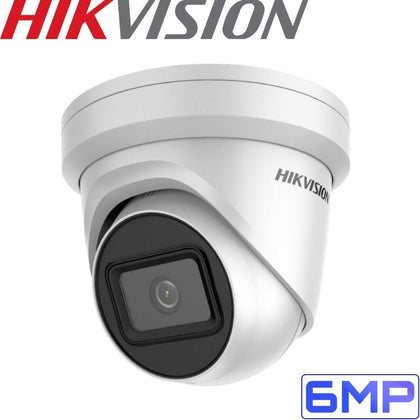HIKVISION DS-2CD2H65G1-IZS Security Camera: 6MP VF Turret, 2.8-12mm, IK10