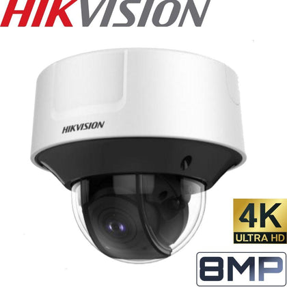 HIKVISION DS-2CD5585G0-IZS Security Camera: 8MP, VF 2.8-12mm Dome, 50m IR