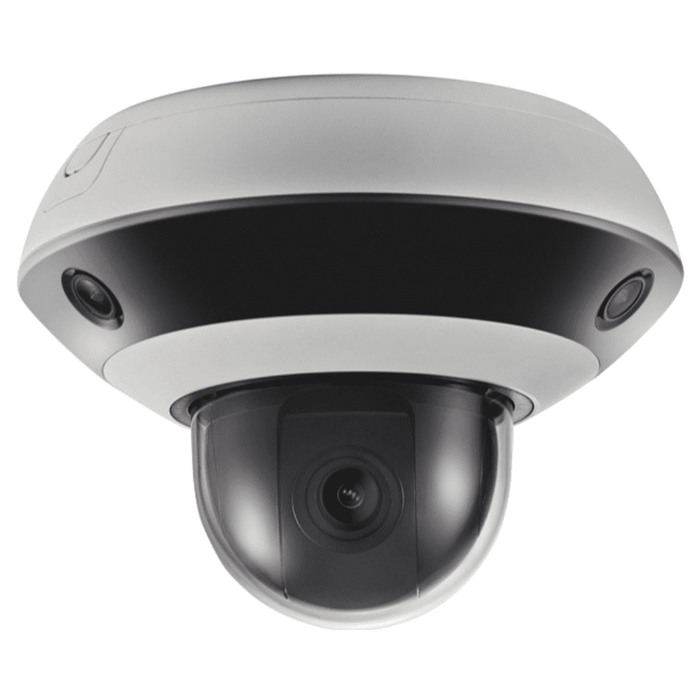 Hikvision DS-2PT3326IZ-DE3 PanoVu Security Camera: 2MP PTZ 360° Panoramic, 4X Zoom