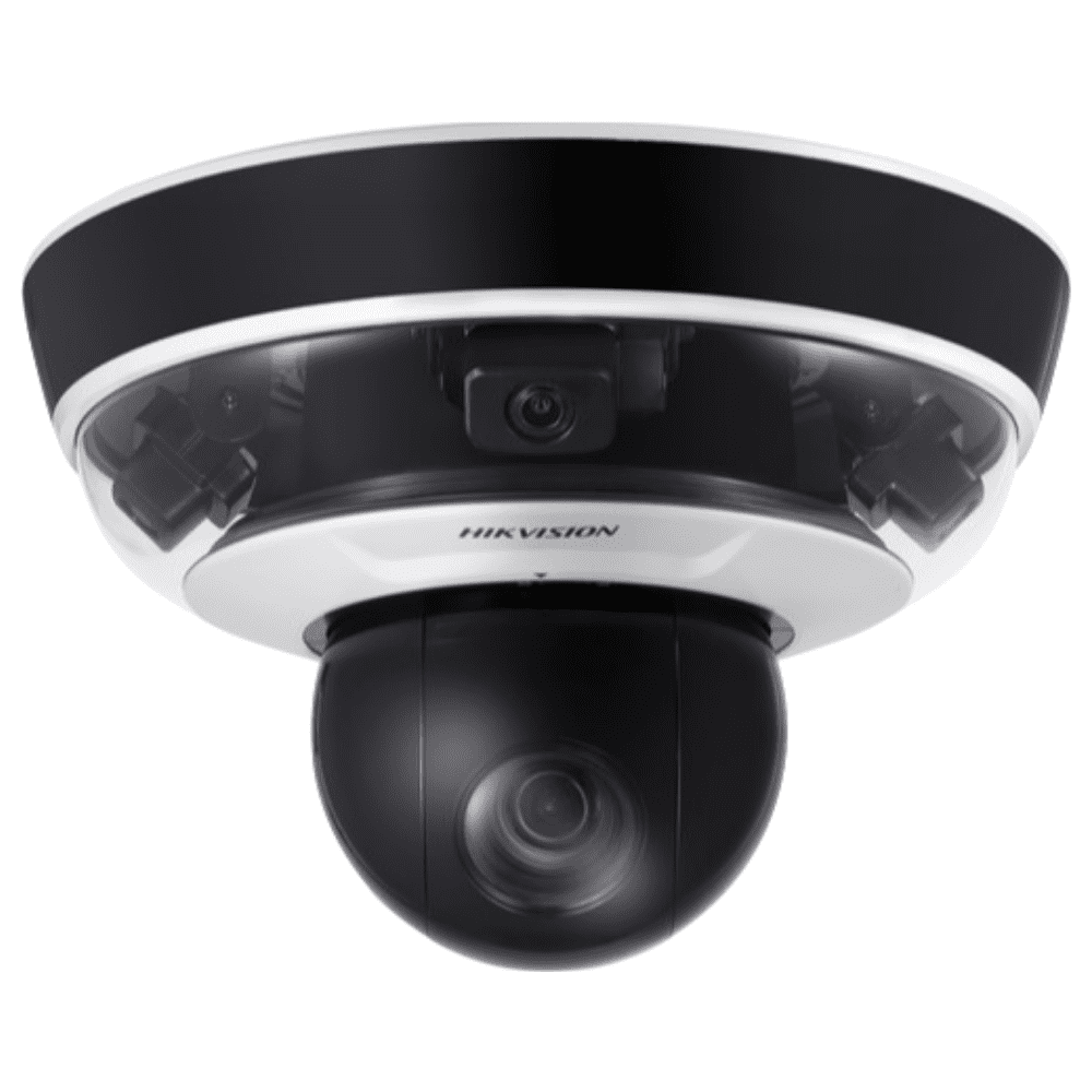 Hikvision DS-2PT5326IZ-DE PanoVu Security Camera: 2MP PTZ 240° Panoramic, 10X Zoom