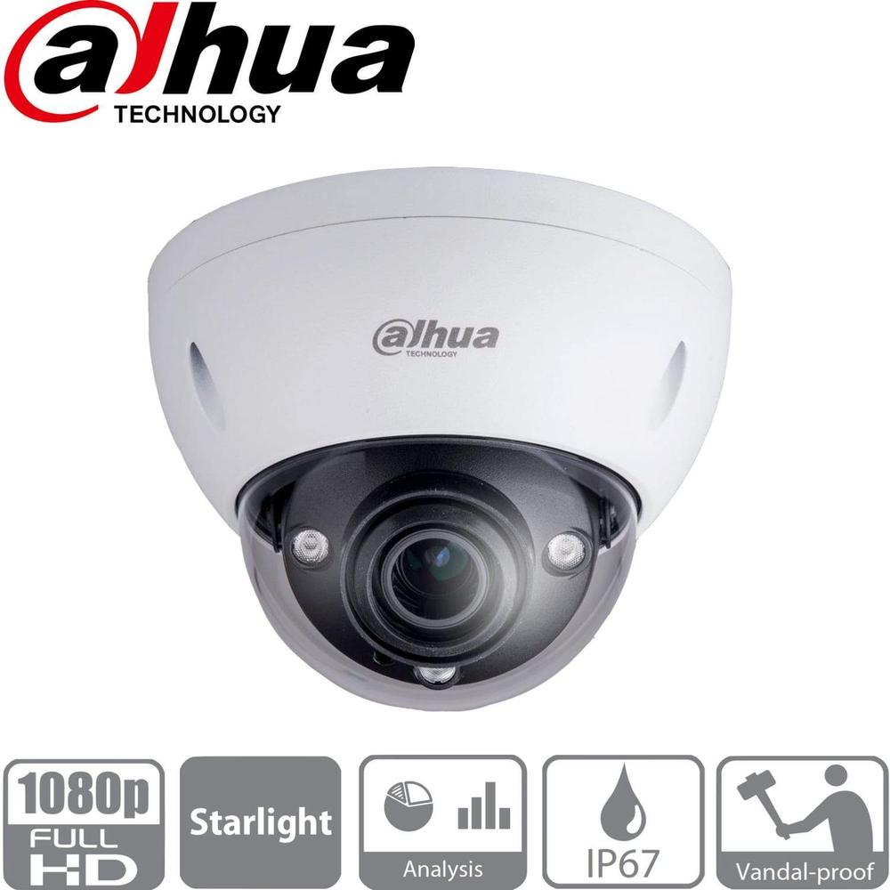 Dahua HDBW5231E-ZE Security Camera: 2MP Varifocal Dome 2.7-13.5mm