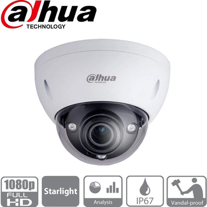 Dahua Security Camera: 2MP Varifocal Dome 2.7-13.5mm